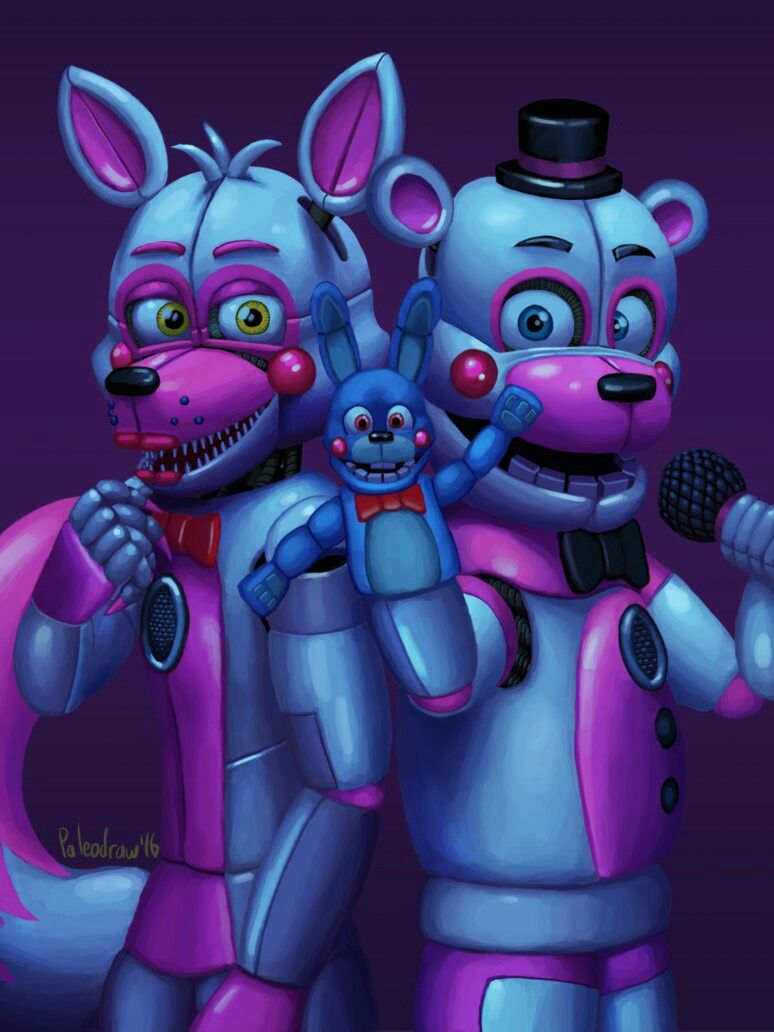 2 Of The New Characters From Five Nights At Freddys Five Sister