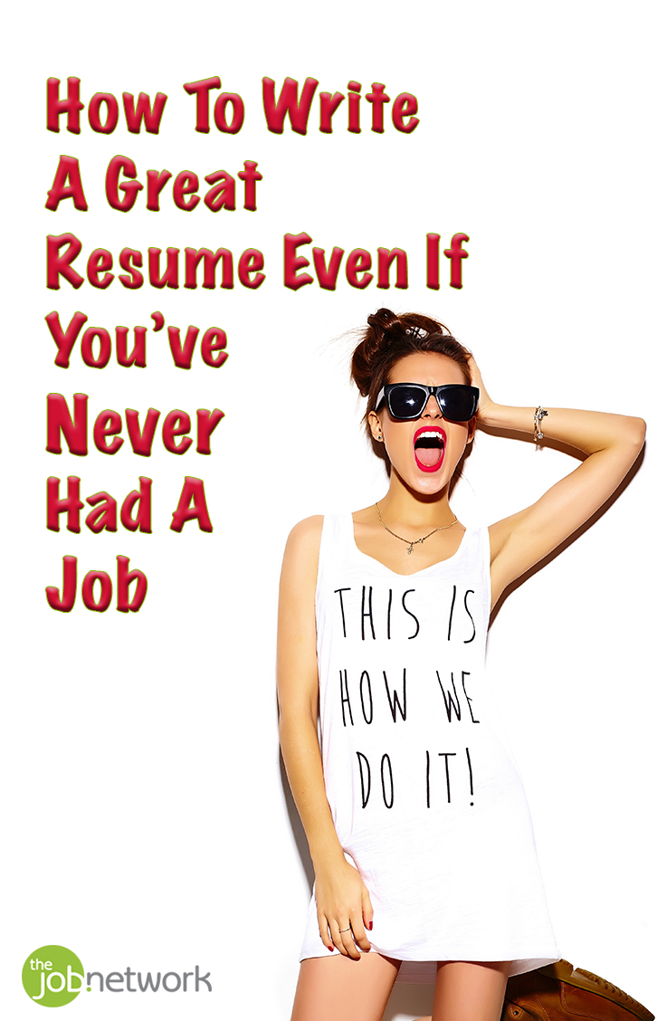 resume never had a job