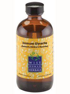 Wise Woman Herbals- Immune Glycerite 8 oz
