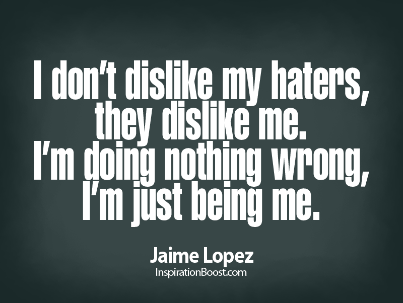 Love Your Haters Quotes About Haters Kanye West Quotes Life Quotes