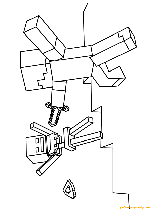 Minecraft Coloring Pages Zombie Villager Minecraft Coloring Pages Coloring Pages Cute Coloring Pages
