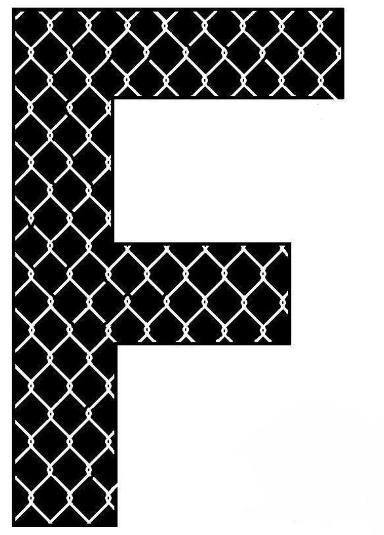 Pin By Hilsen Valenzuela On Letras Letter F Monogram