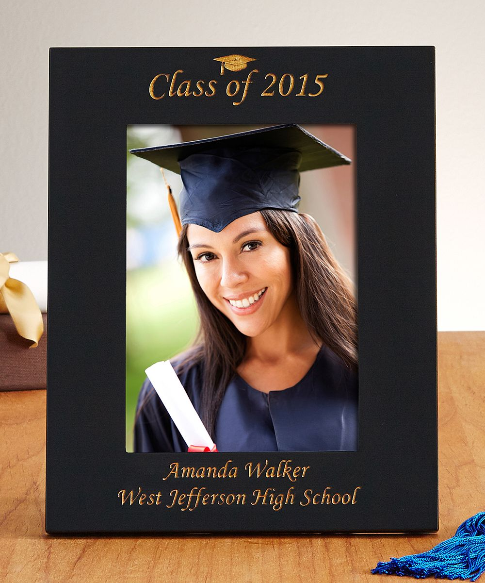 Black Personalized Class Photo Frame Products Pinterest