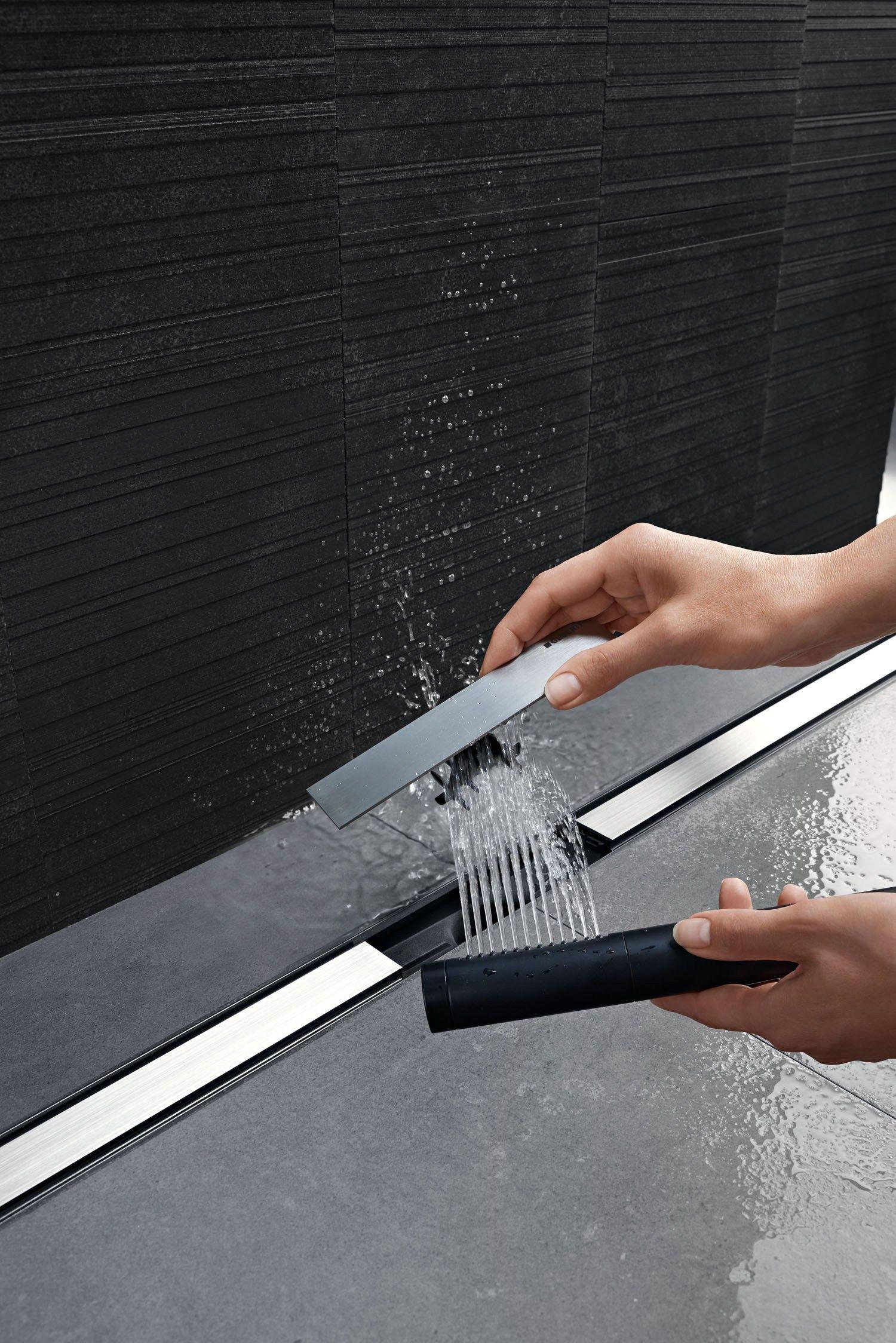 Steel Shower Channel Cleanline By Geberit Italia Shower Drains Shower Drain Shower