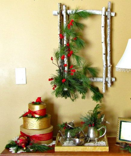 Unique Christmas Wall Decorations To Make Adornment - Wall Art ...