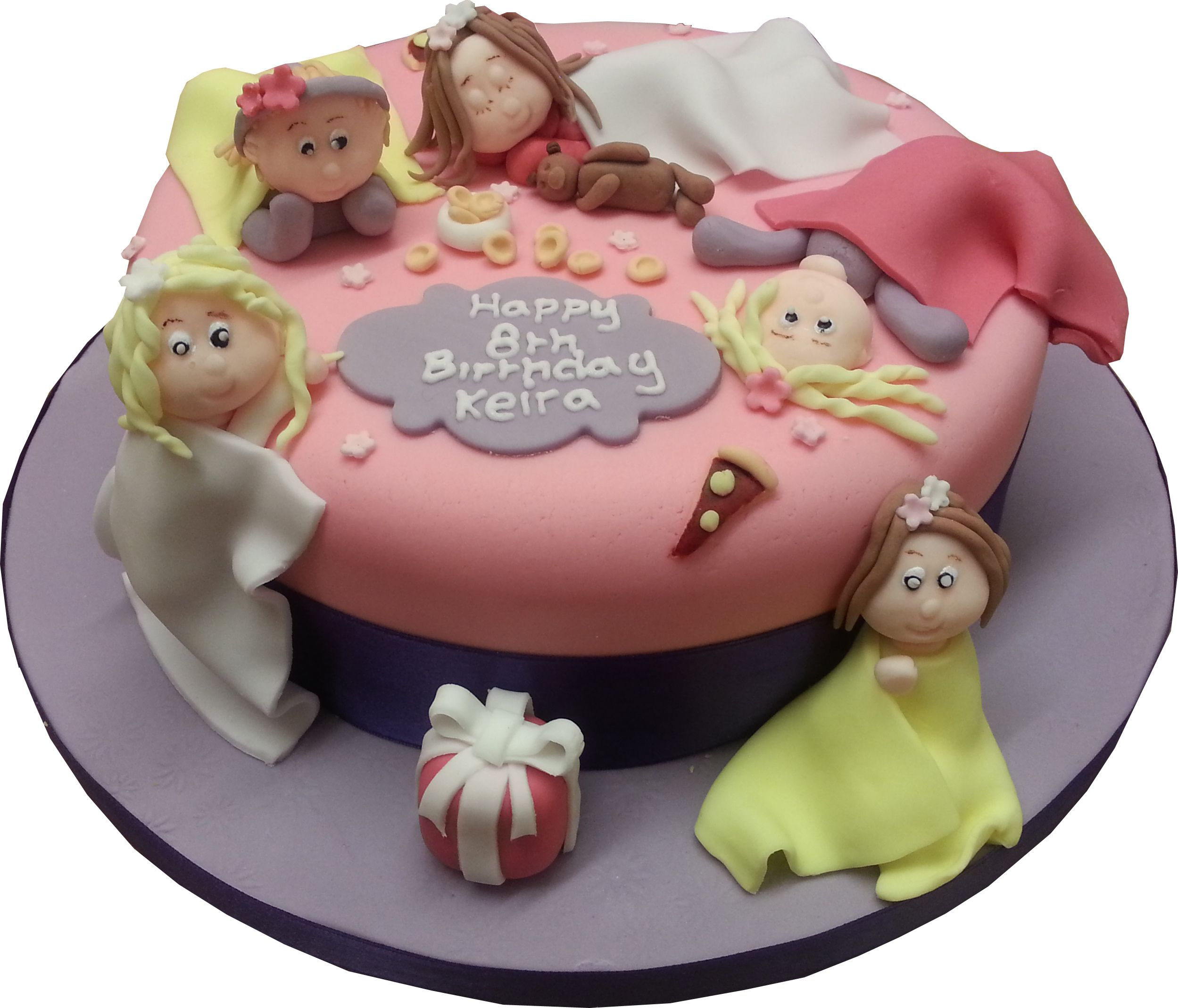 Sleepover Cake Starry Cakes Northampton Starry Design Studio
