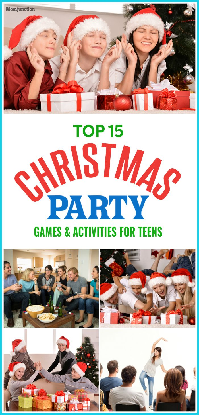 Teenage Christmas Party Ideas Part - 35: Here Are Some Fun Christmas Party Games For Teens. These Christmas  Activities Give Your Teenager