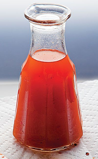 Eastern North Carolina Sauce                                                                                                                                                                                                                                             In eastern North Carolina, spiced vinegar sauce offsets the richness of pork.