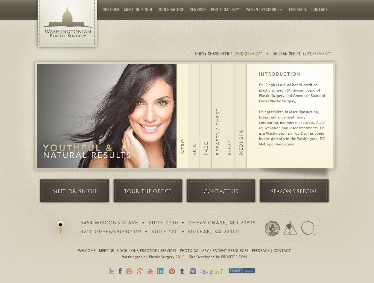 Plastic Surgery Website Design Plastic Surgery Facial Plastic Surgery Dental Website
