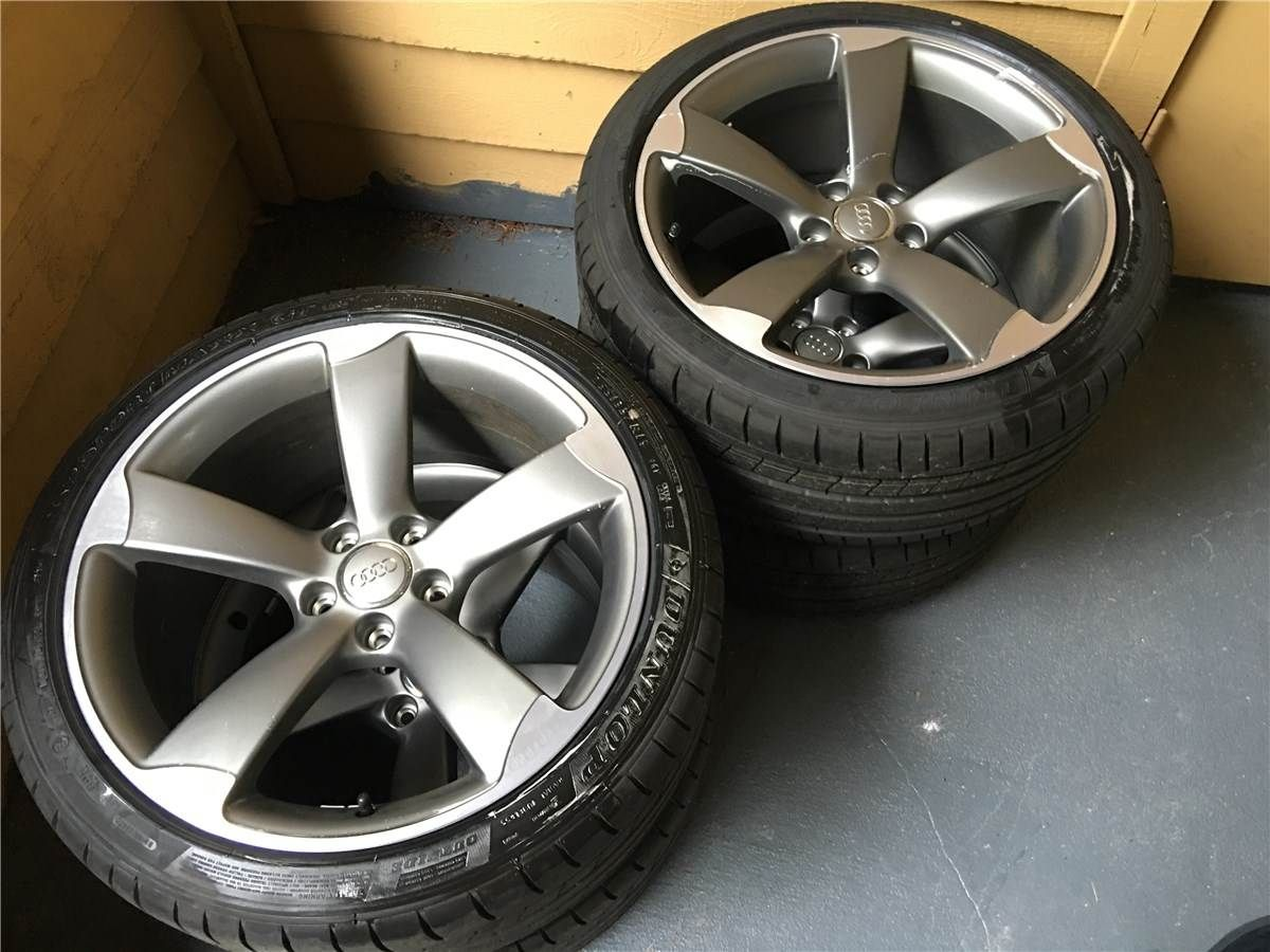 For sale trade audi s5 rotors 19x9 et33 with new tires