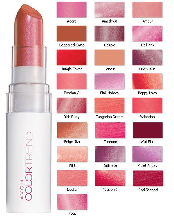 Avon Color Trend Kiss N Go Ruj 623 N11com Avon Products