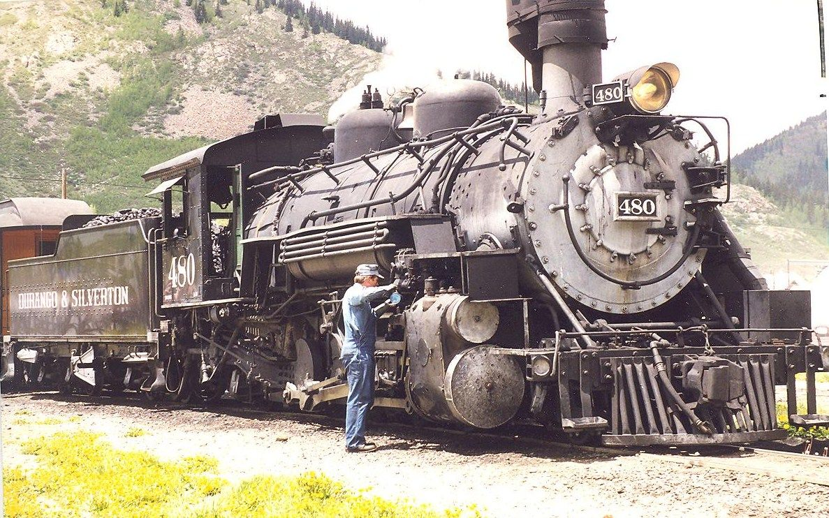 Silverton Colorado Train truck, Silverton colorado, Train