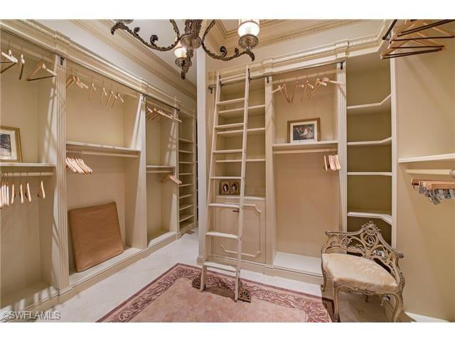 162 Beach, Marco Island, FL 34145 | Elegant Millwork In This Custom Closet