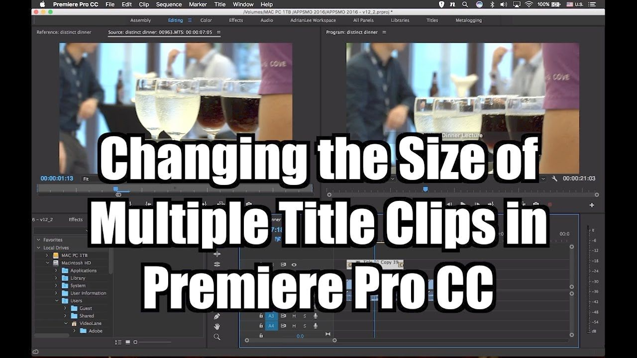 How to Change Multiple Title Frame Size or Resolution | Adobe ...