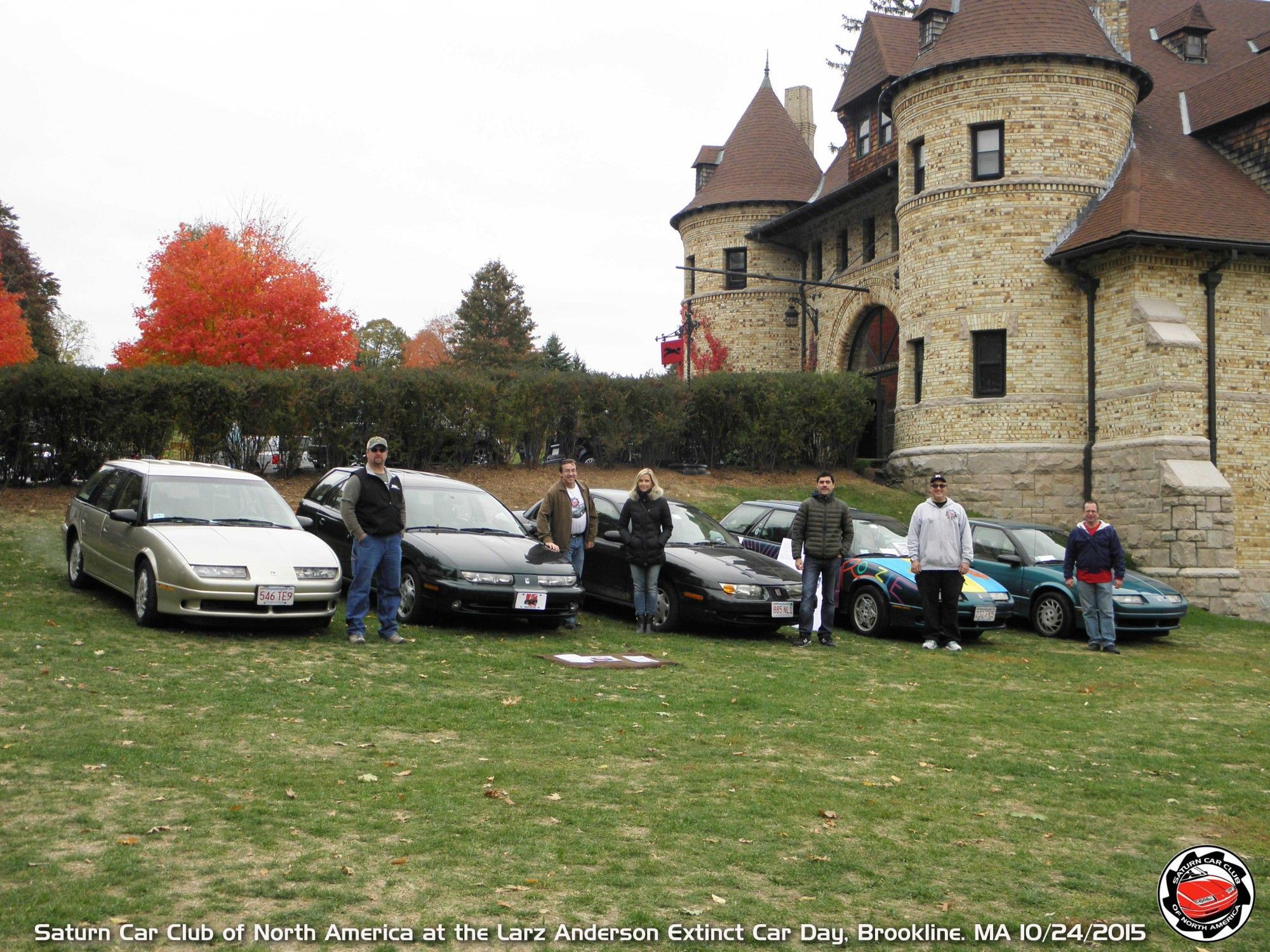 Sccna At Larz Anderson Extinct Car Day Boston 10 24 15 Saturnfans Photo Forums