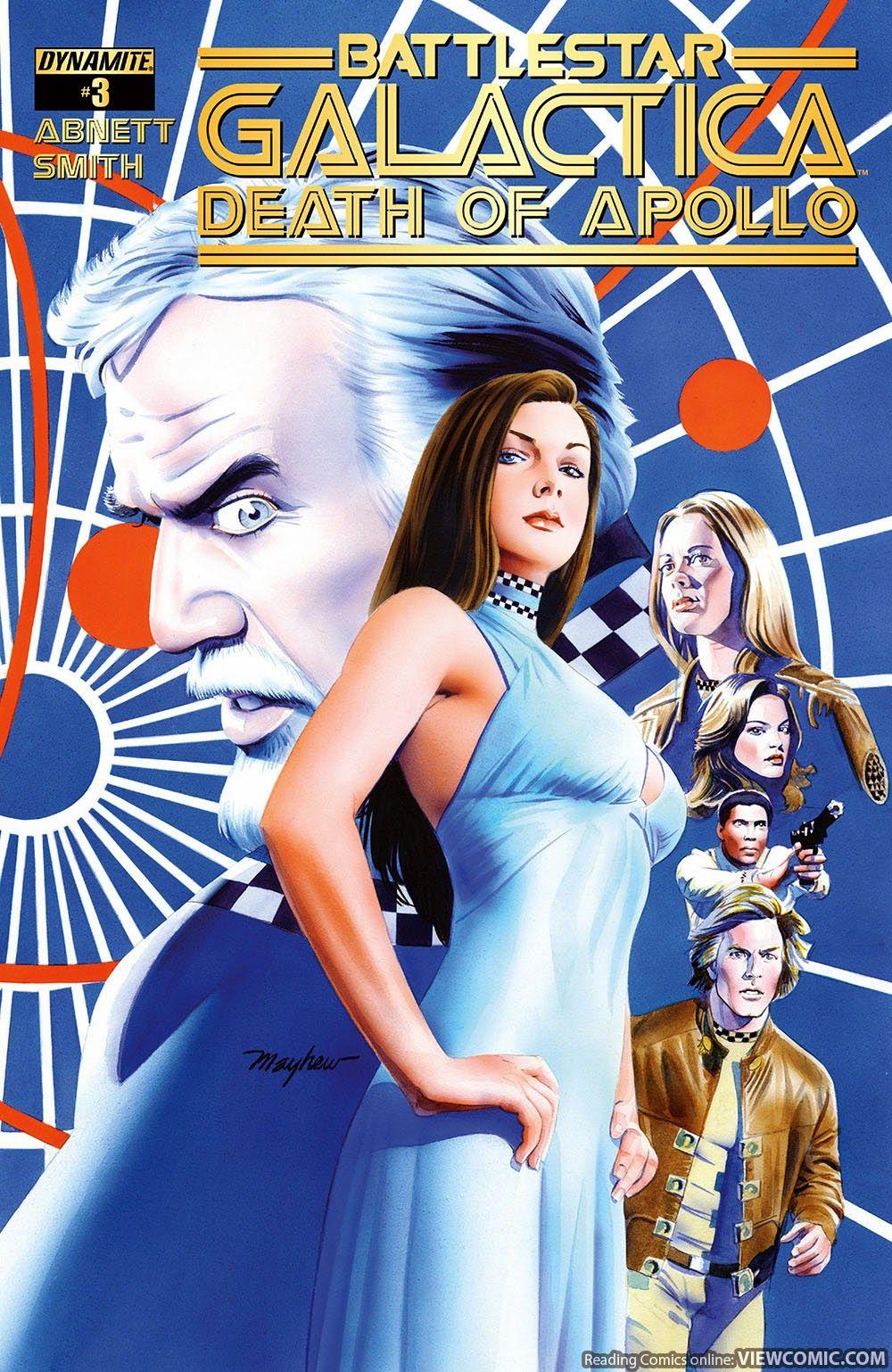 Battlestar Galactica – The Death of Apollo 003 (2015) W.B.