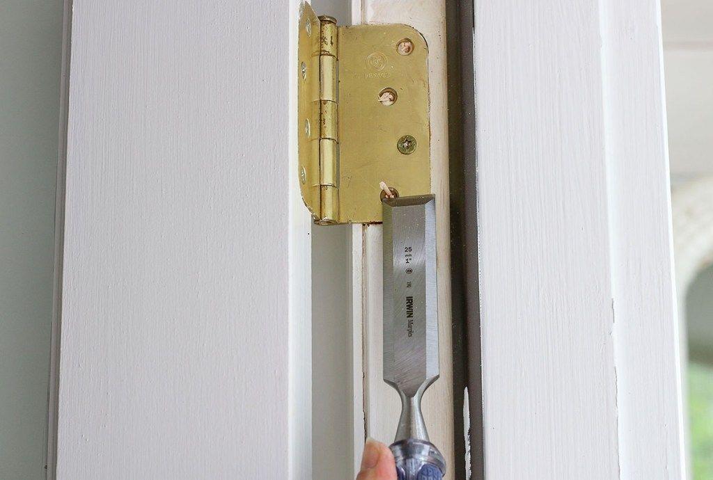 Fixing common door problems doors door hinge repair