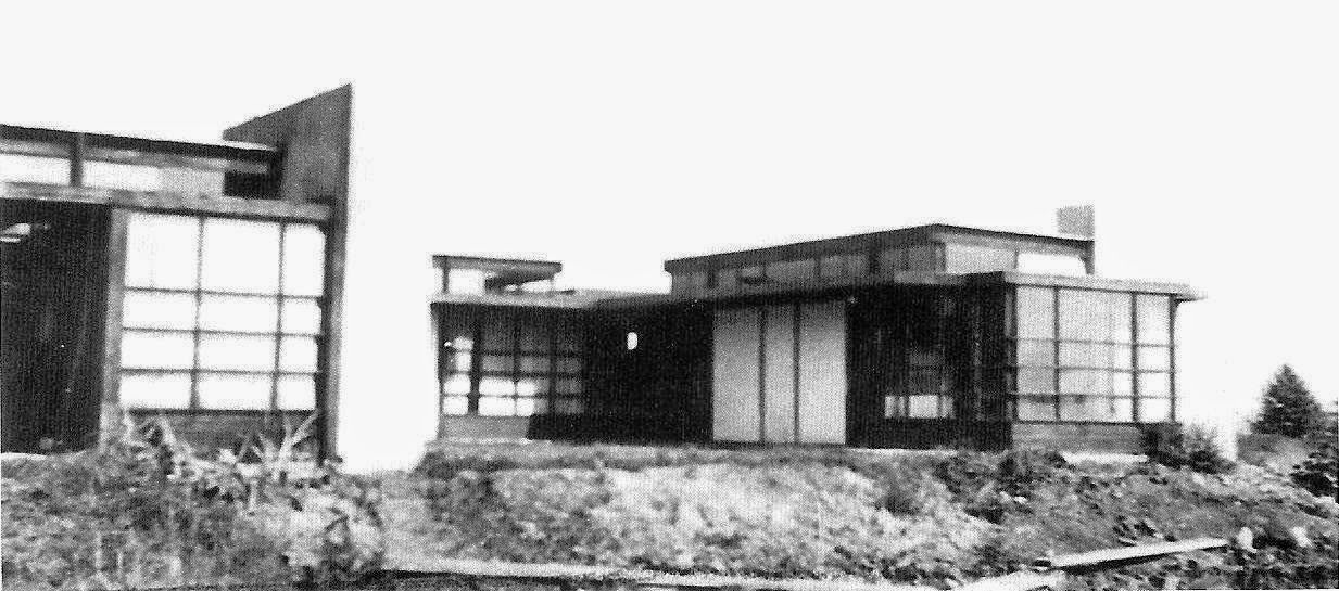 schindler house - 1922 home of architect rudolph schindler (1887
