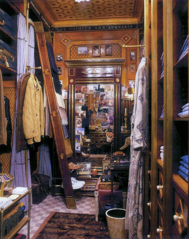 Style of dressing room