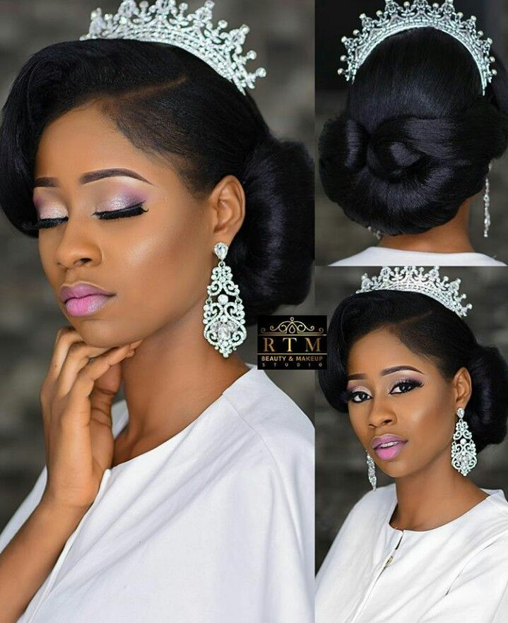 Wedding Hairstyles African American Brides: #africanamericanmakeup (With Images)