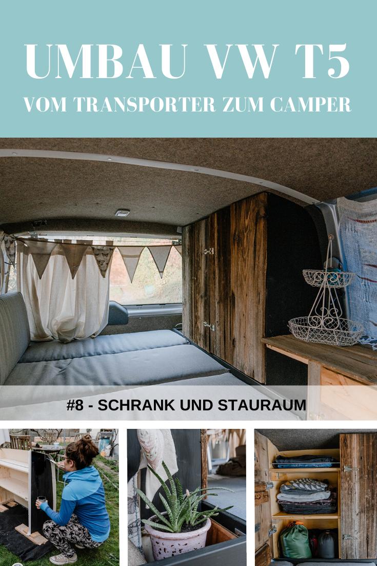 Vw T5 Ausbau Mobel Schrank Take An Advanture Vw Campingbus Vw T5 Vw Bus Umbau