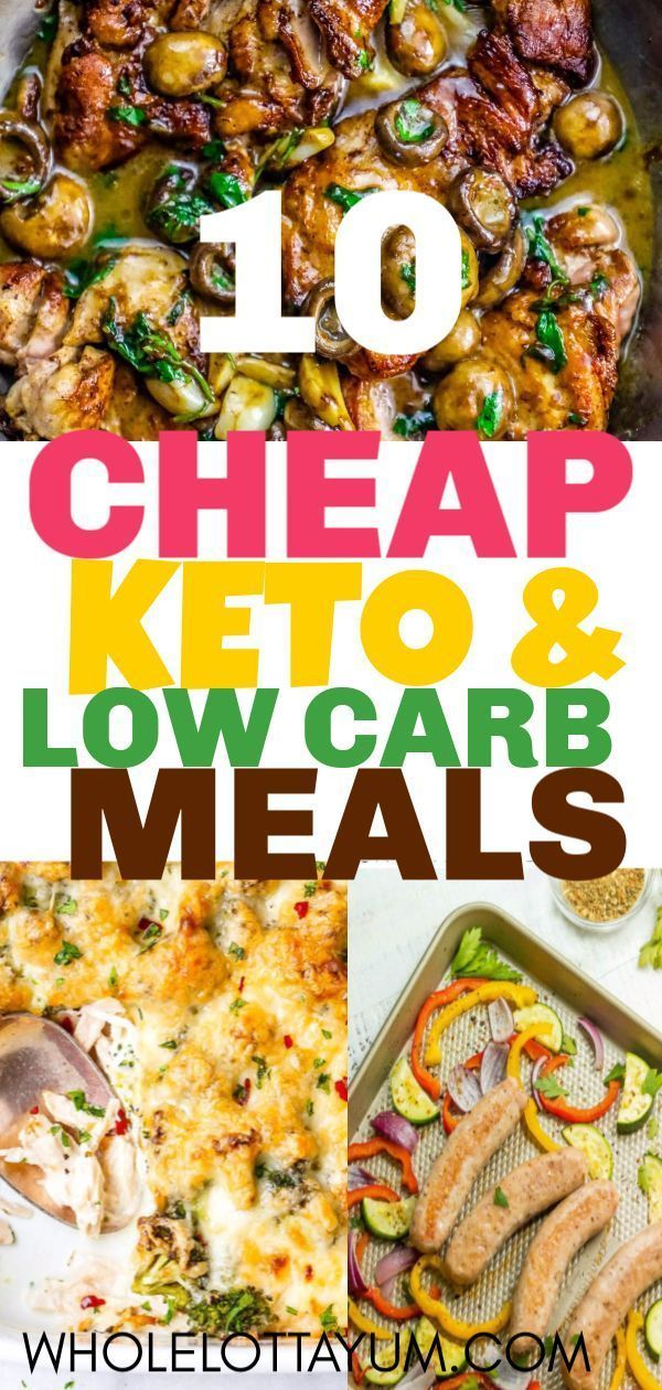 10 Cheap Keto Meals That Are So Simple & Good images