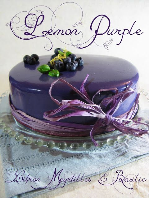 Le Lemon Purple Meals Pinterest Lemon Cake And Patisserie