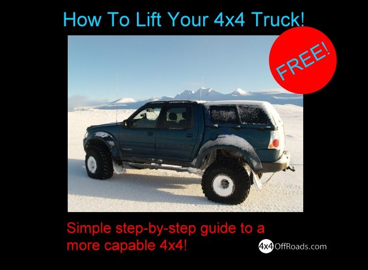 How to lift your 4x4 truck simple stepbystep guide to