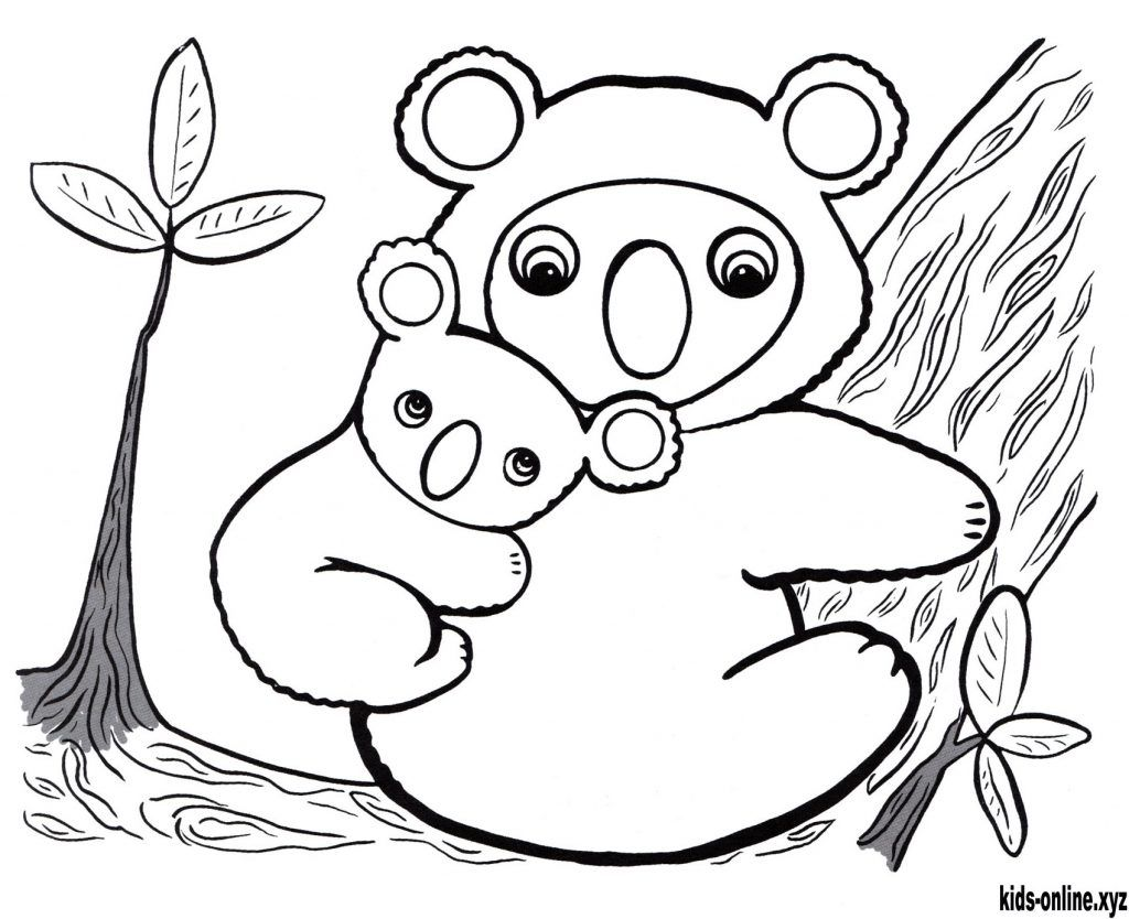 Koala Coloring Pages Animal Coloring Pages Coloring Pages Cool Photos