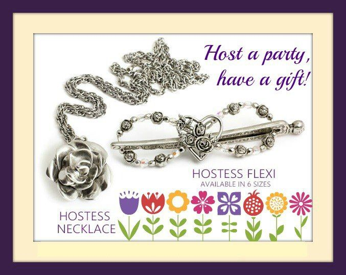 Host a Lilla Rose party and a gift. In addition to the hostess rewards, you also receive your choice of a Hostess exclusive Flexi Clip or necklace with a qualifying party of $100 or more.  www.lillarose.biz/DebToms/host-a-party.html