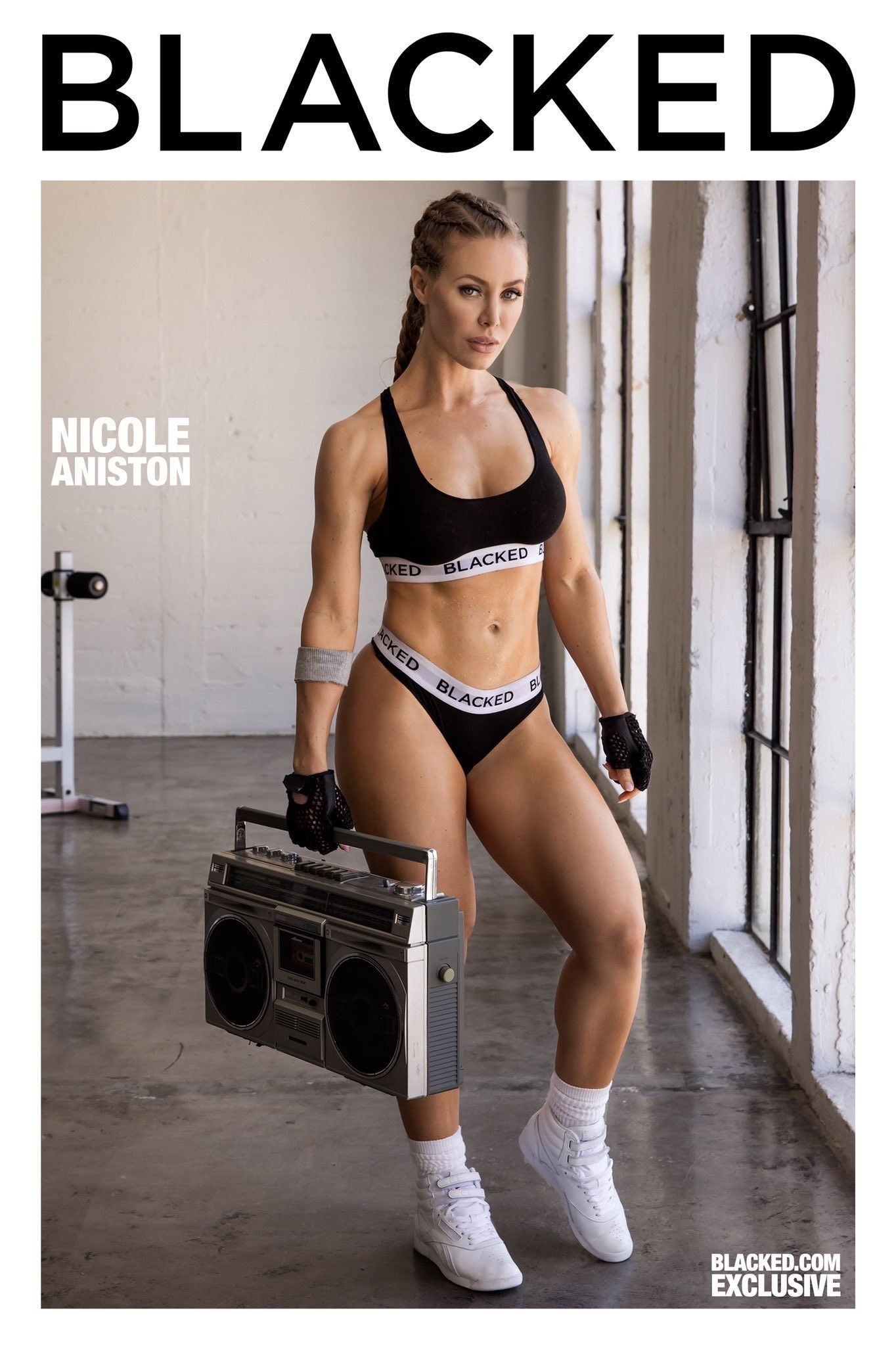 Nicole aniston gym