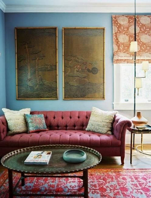 surprising home decorating ideas living room walls   25 Ideas for Modern Interior Design and Decorating with ...