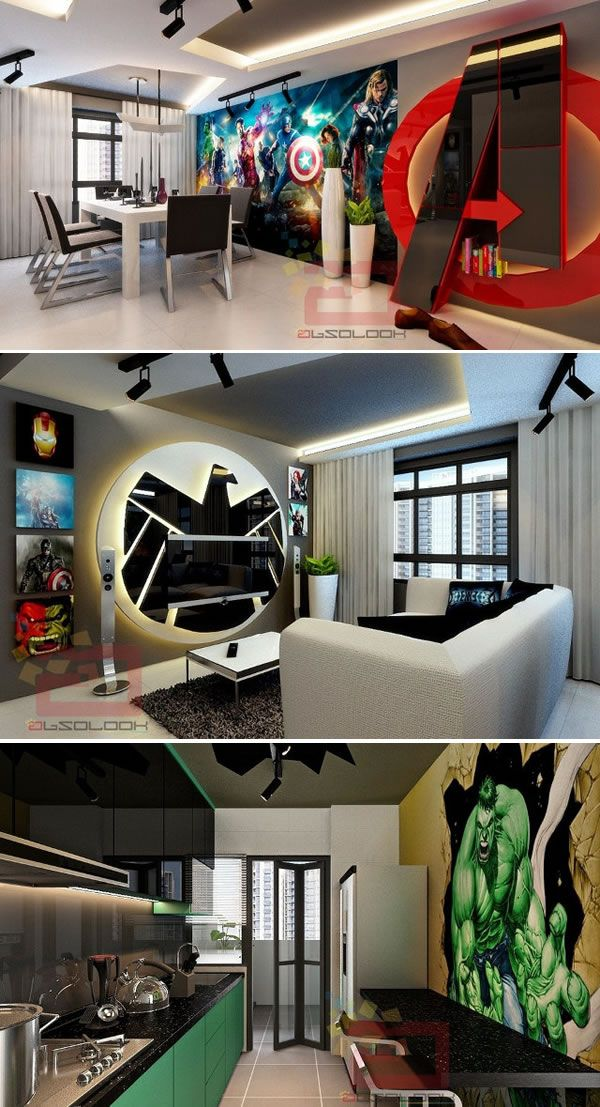 10 Coolest Themed Apartments In 2019 Future Home
