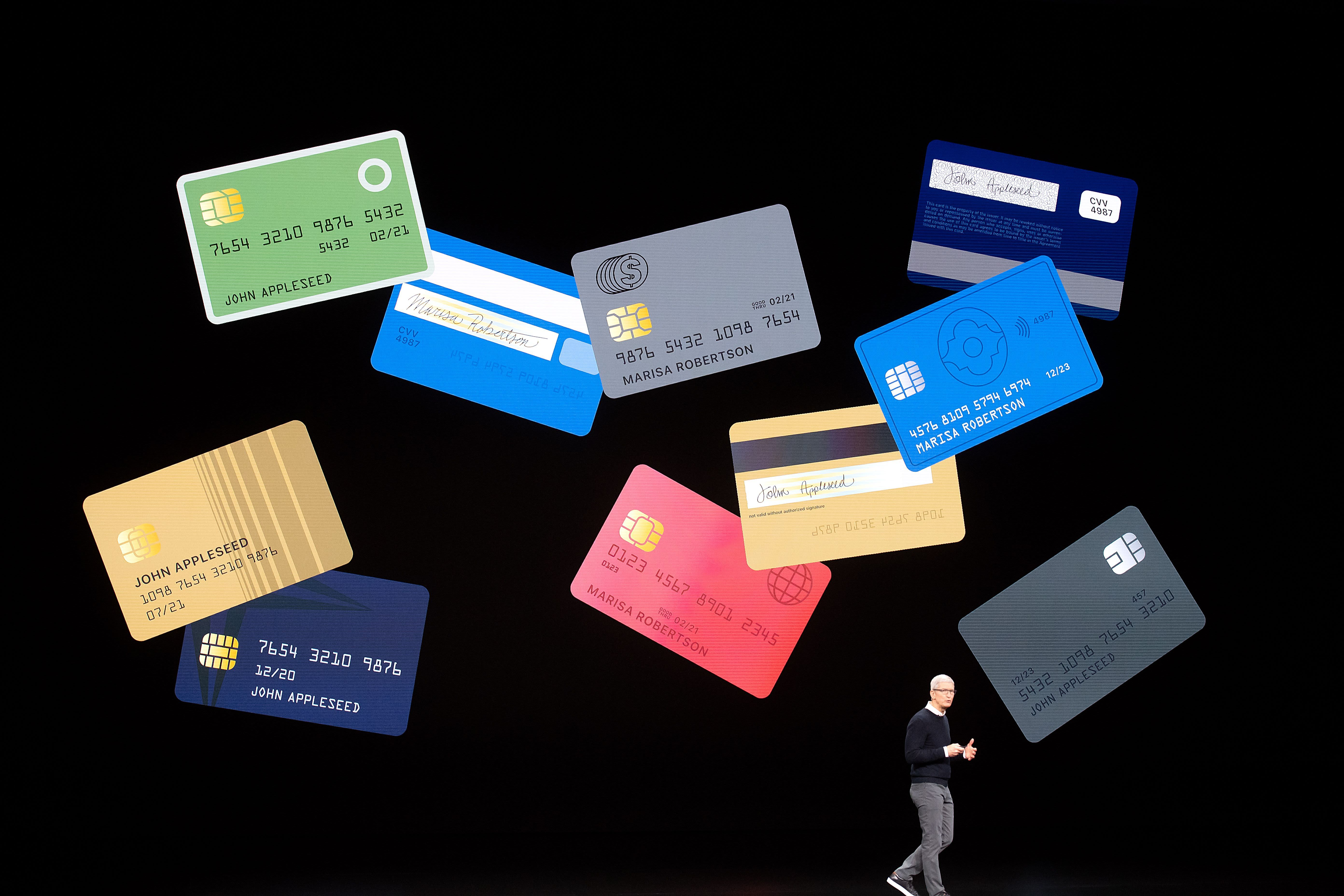 A Goldman Sachs rival pulled out of the Apple Card deal on