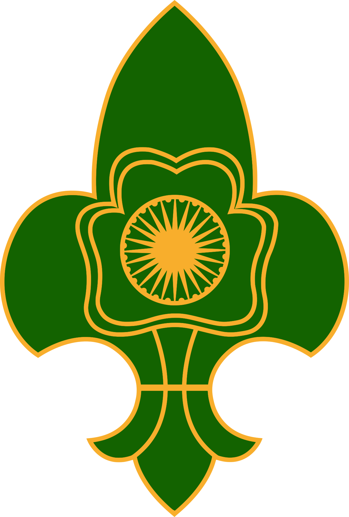 The Bharat Scouts and Guides Wikipedia Girl scout