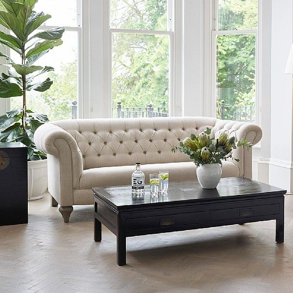 Best Chesterfield Three Seater Sofa Three Seater Sofa Coffee 400 x 300