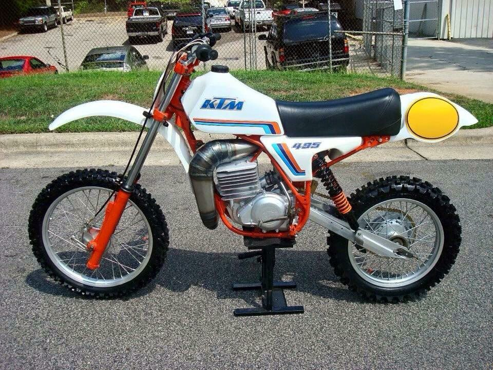 Pin By Quique Maqueda On Dirt Bikes Ktm Vintage Motocross Motorcycle Dirt Bike