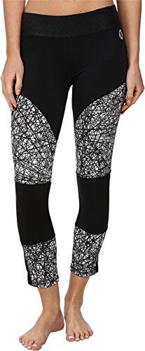 Hurley DriFit Moto Crop Legging  Womens White Power Web XL *** Learn more by visiting the image link.