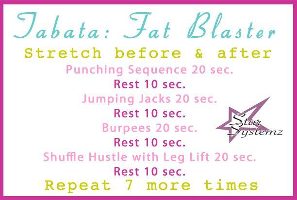 Tabata Workout: Full Body Fat Blaster