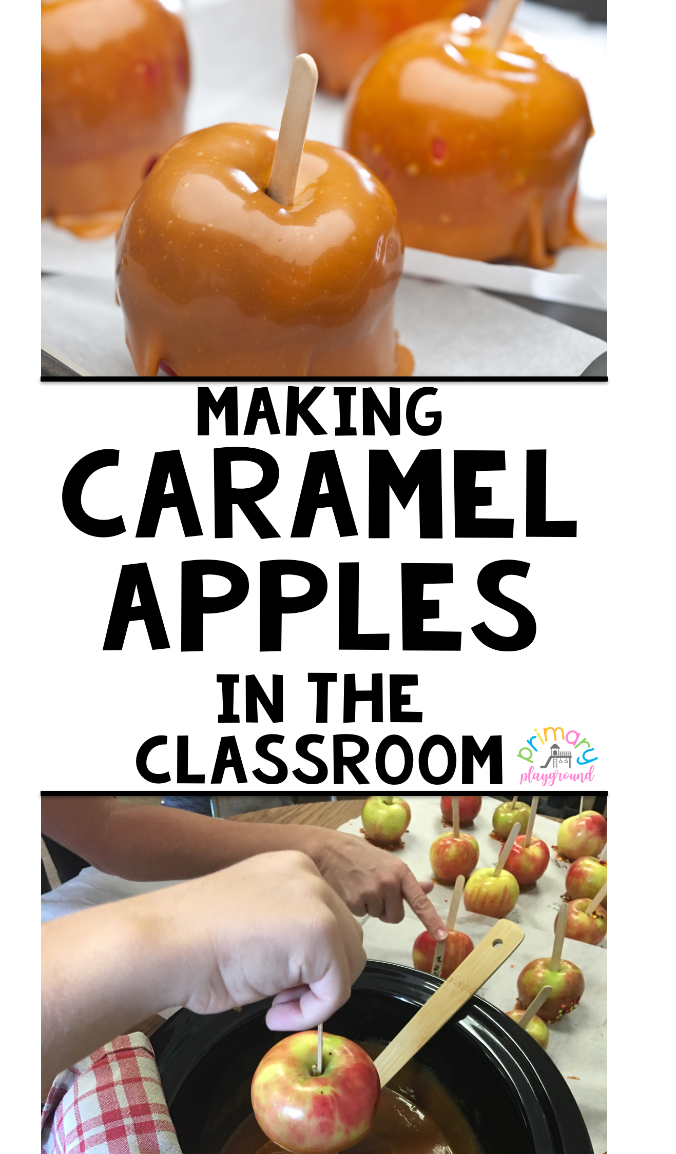 Making Caramel Apples In The Classroom Preschool Cooking How To
