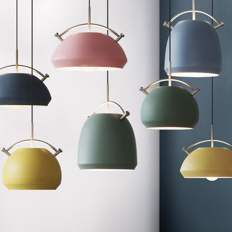 New Colorful Nordic Modern Hanging Pendant Lights E27 Pendant