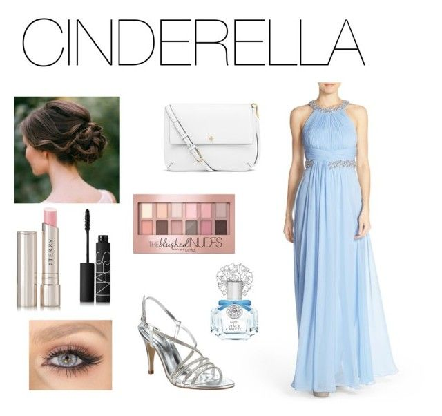 Eliza j blue dress cinderella