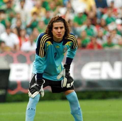 Ochoa Mexican Footballer Soccer Players Goalkeeper Guillermo Ochoa