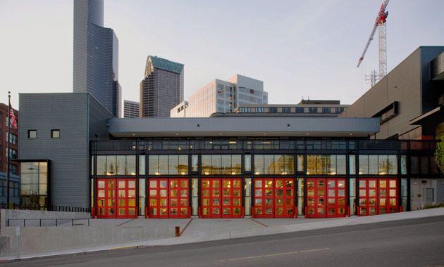 Seattle Fire Station 10 Via Hoffman Construction Company Fire