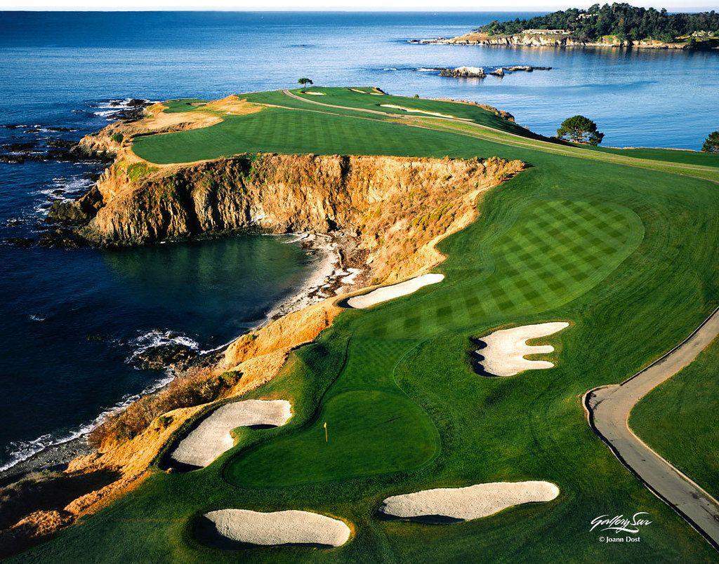 Pebble Beach Golf Courses Golf Pictures Golf School