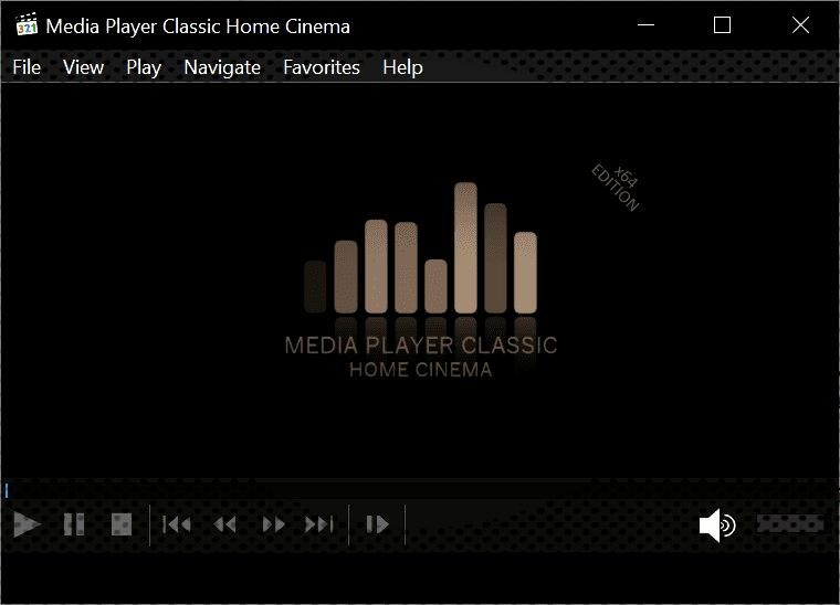 Media Player Classic MPC-HC 1.9.0 update brings dark theme support -