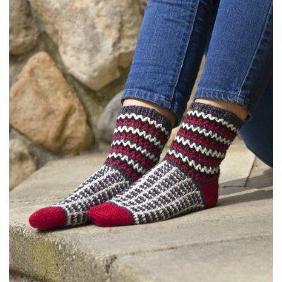 Maggies Crochet More Crocheted Socks Crochet Pattern Socks