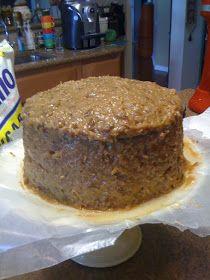 German Chocolate Cake Recipe In 2020 German Chocolate Cake Recipe German Chocolate Cake Homemade German Chocolate Cake