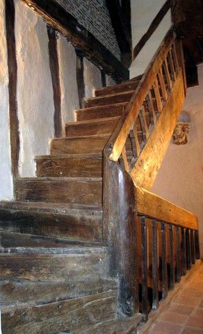 Staircase Into My Heart 17th Century Oak Staircase From French