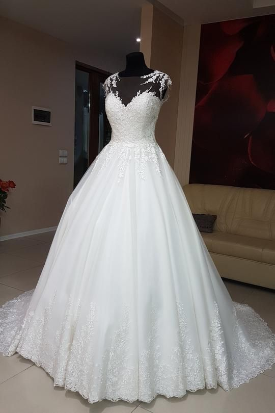 Photo of Gorgeous Green A Line Sweetheart Tulle Wedding Dresses Ball Gowns